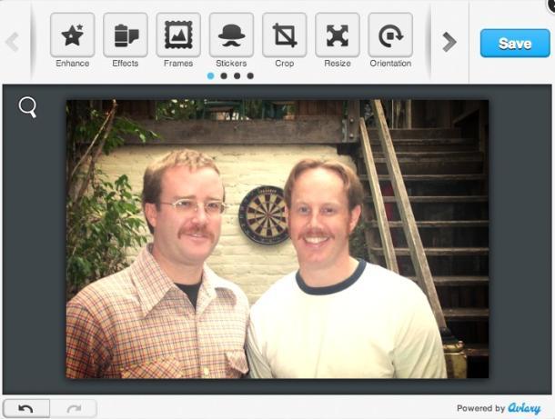 Editoni fotot në Facebook on line me Fly Photo Editor