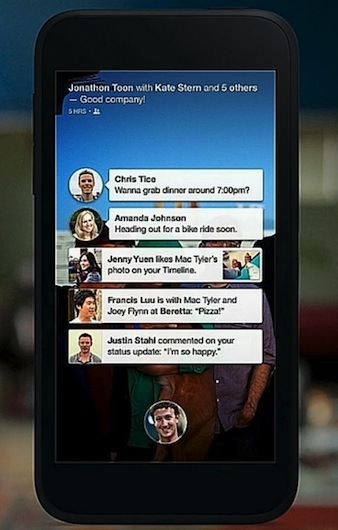 facebook home iphon