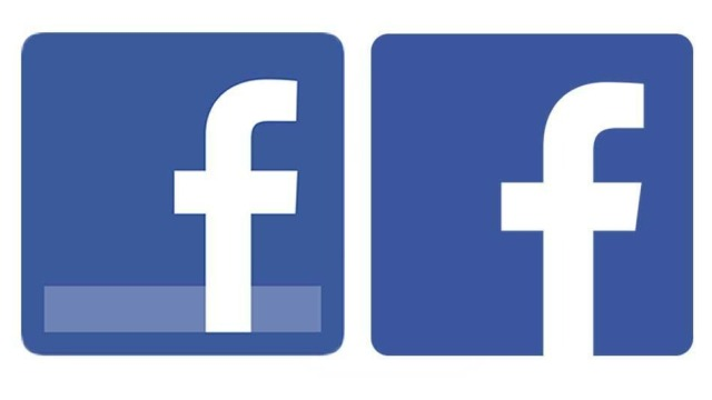 Facebook përmirëson logon