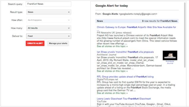 5 mënyra kreative për të përdorur Google Alerts