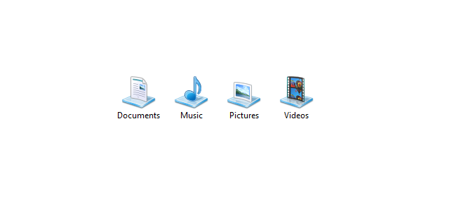 Si të riktheni libraritë e nënkuptuara (default) në Windows