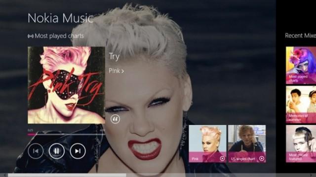 Nokia lançon shërbimin e saj të muzikës për Windows 8 dhe RT