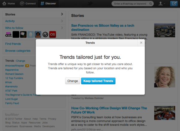 Twitter sjell tema në trend në 160 vende të reja