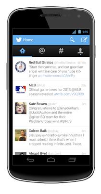Twitter sjell disa përditësime për aplikacionet mobile