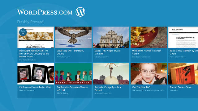 Ktheni blogun e WordPress në një aplikacion Windows 8
