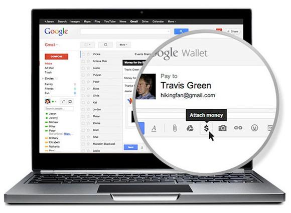 Google Wallet mundëson dërgimin e parave përmes Gmail-it
