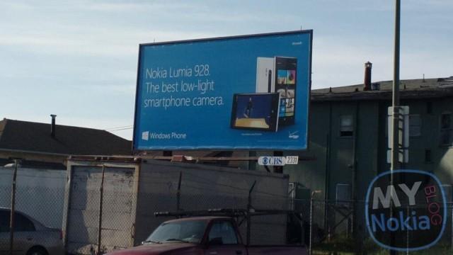 Tabelat reklamuese të Lumia 928 dalin para vetë pajisjes