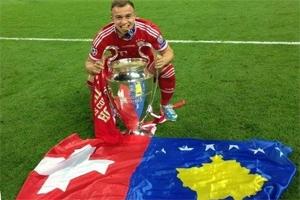 Bajerni kampion Evrope, Kosova trend në Twitter
