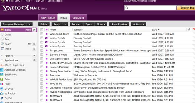 Yahoo Mail – 281 Million