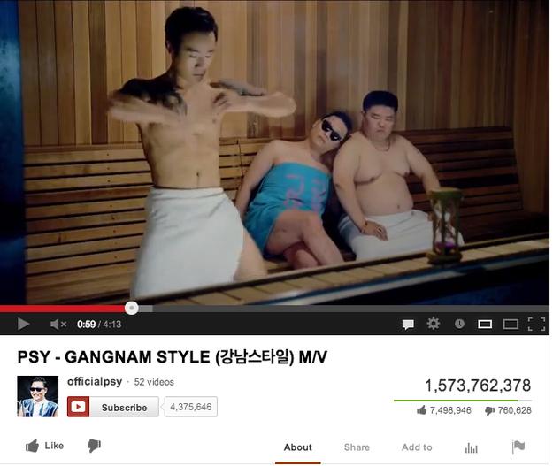 YouTube – 1 Miliard
