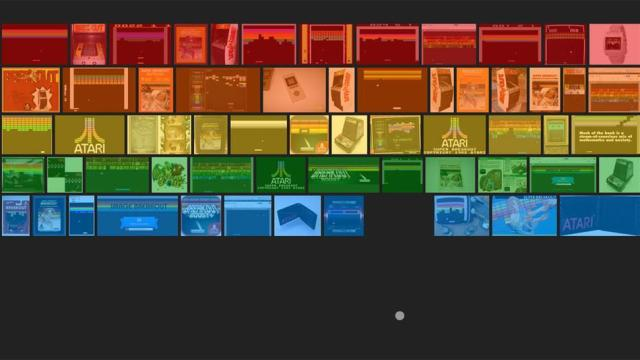Luani Atari Breakout me Google Image Search