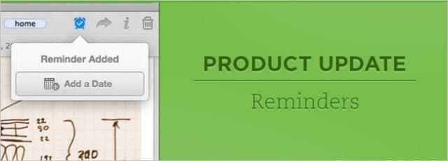 Evernote shton Reminders në versionet Mac, iOS dhe ueb