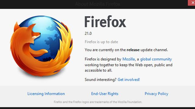 Versioni i Firefox 21 vjen me disa veçori të reja