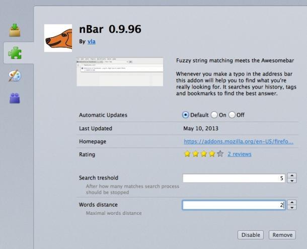 Me funksionalitetin Nbar shfletuesi Firefox mund të kuptojë adresat e shkruara gabim