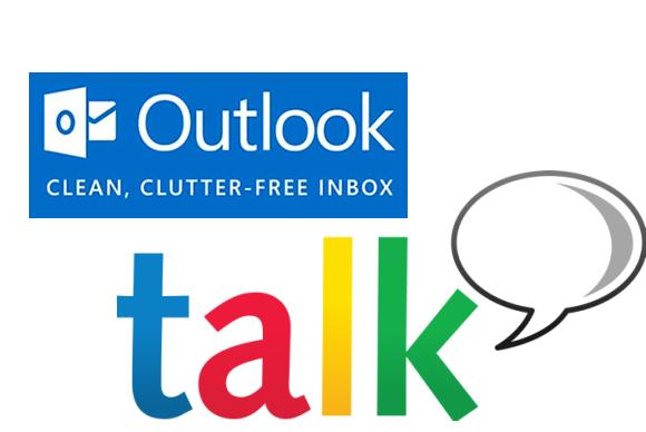 Outlook.com integrohet tashmë me Google chat