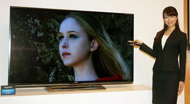 Sharp prezanton dy televizor Aquaos 4K LCD