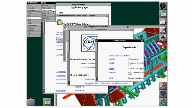 Festohet 20-vjetori i publikimit të faqes së parë ueb