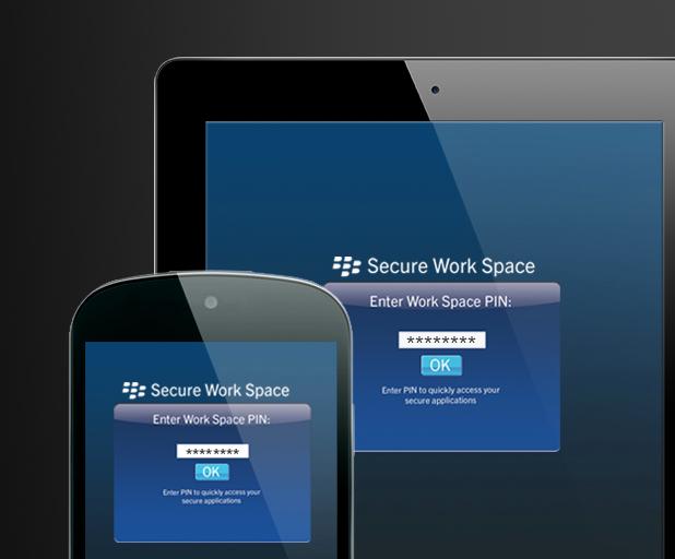 blackberry secure work