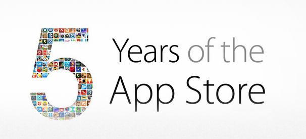 5 yrs app store