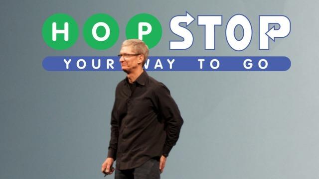 Apple blen aplikacionin për transport dhe navigacion HopStop