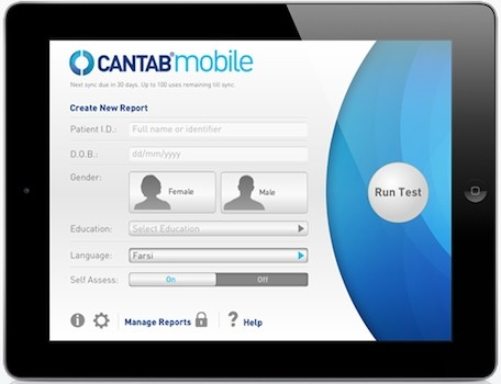 Cantab mobile