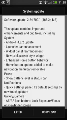 Lançohet përditësimi i sistemit Android Jelly Bean 4.2.2 për HTC One