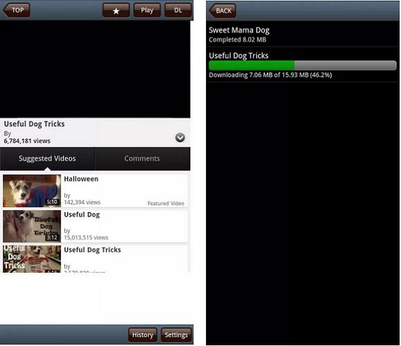 Disa aplikacione Android pa pagesë për shkarkimin e videove nga Interneti
