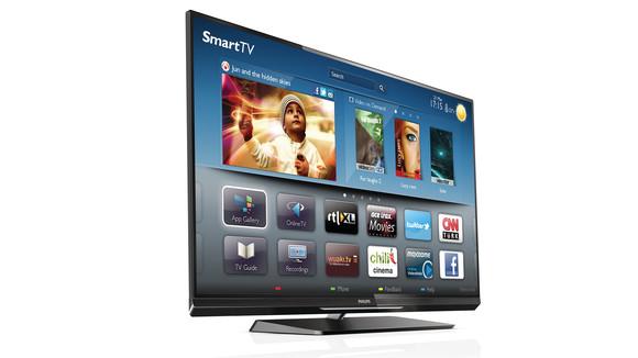 Philips raporton rritje të përdorimit të smart TV-së