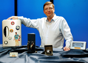 BILL GATES SHOWS NEW SMART PERSONAL OBJECTS TECHNOLOGY