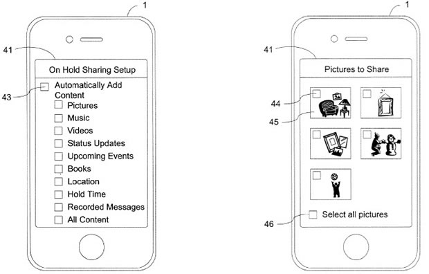 iphone patent share