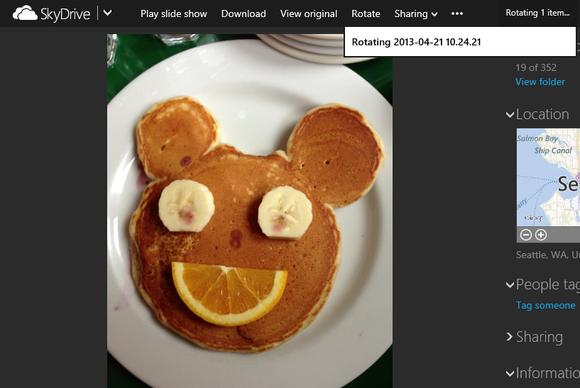Microsoft pasuron faqen e SkyDrive me karakteristika të reja për fotot