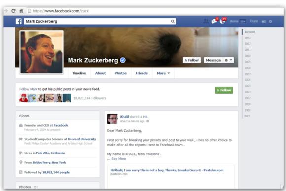 Facebook rregullon gabimin që ndodhte me postimet e paautorizuara në Timeline