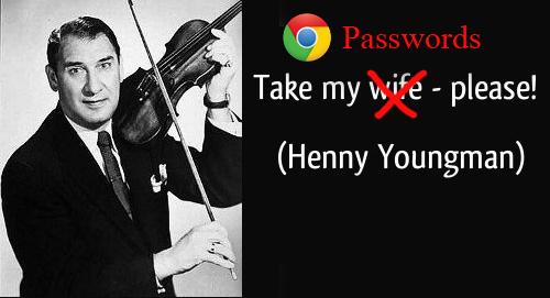 Ja sa e lehtë është të aksesosh fjalëkalimet e ruajtura në Google Chrome