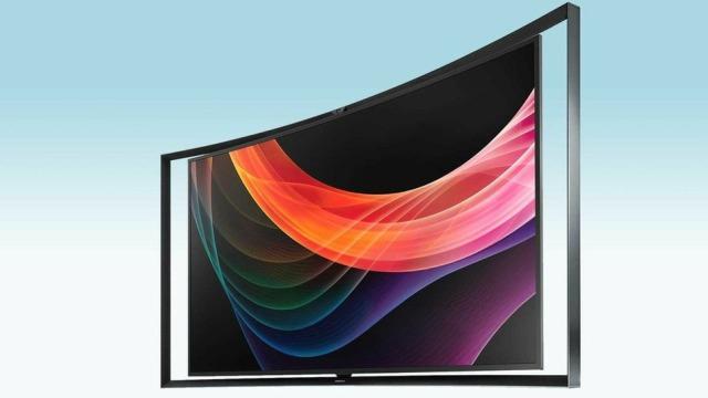 Samsung zbulon televizorin e përkulshëm OLED
