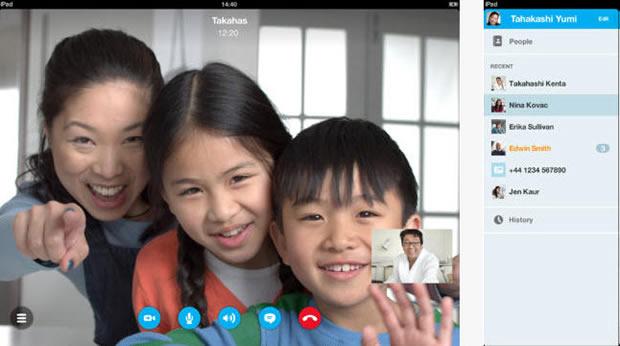 Skype suporton tashmë videot HD për versionet e fundit të iOS