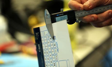 World's thinnest keyboard