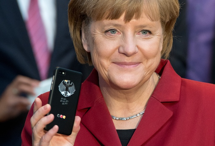 GERMANY-POLAND-IT-EXPO-CEBIT-MERKEL