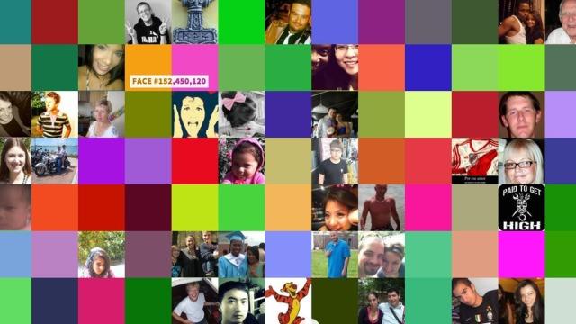 """Uebfaqja """"Fytyrat e Facebook-ut"""" mbledh 1.2 miliardë foto të profileve të rrjetit social"""