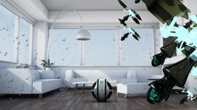 Robotë fluturues për pastrimin e shtëpisë tuaj