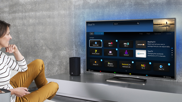 "Philips lançon shërbimin ""Cloud TV"""