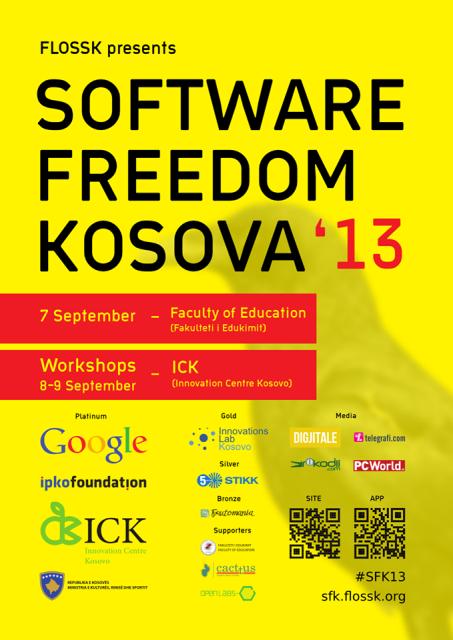 Hapet regjistrimi për workshop-et e konferencës Software Freedom Kosova