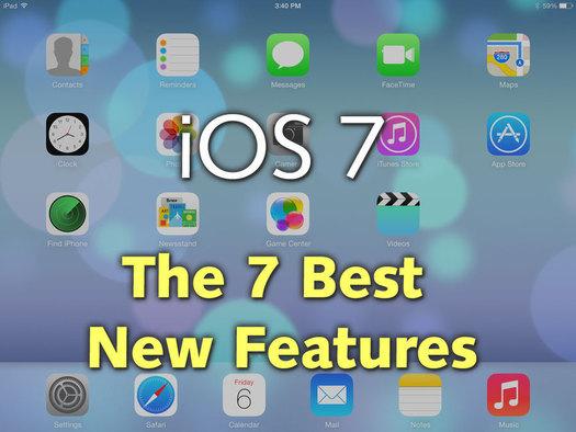7 karakteristikat më të mira të iOS 7