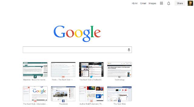 """Google lançon dizajnin e ri të faqes """"New Tab"""""""