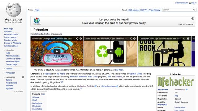 Me shtojcën Wikitube lexoni nga Wikipedia dhe shikoni YouTube në të njëjtën faqe