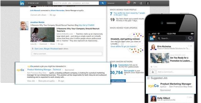 Tashmë LinkedIn do të shfaqë pozicionet vakante në faqen kryesore