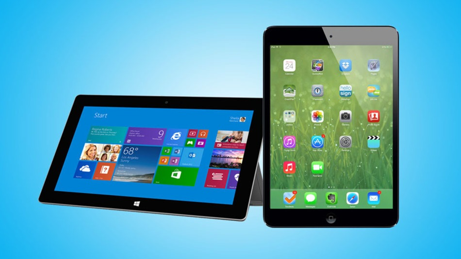 Beteja e tabletëve: Surface 2 vs. iPad