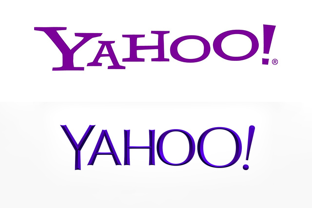 Yahoo zbulon logon e re të kompanisë
