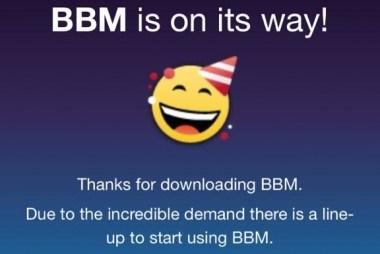 Lançohet më në fund BlackBerry Messenger për iOS dhe Android