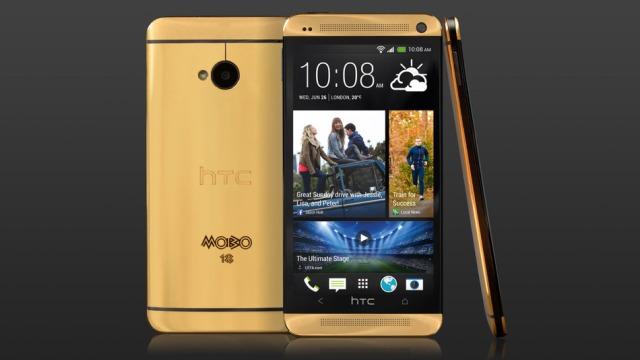 4400 $ për një telefoni prej floriri të vërtetë nga HTC