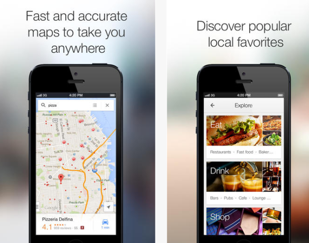 Google Maps për iOS vjen me më tepër veçori navigimi
